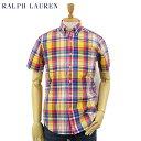 """POLO Ralph Lauren S/S """"POPLIN"""" B.D. Shirts US ポロ ラルフローレン コットンポプリン ボタンダウン 半袖シャツ"""