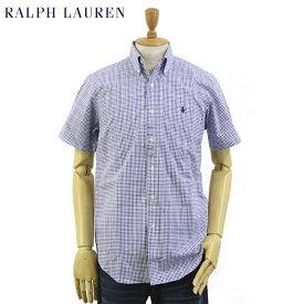 "Ralph Lauren S/S ""STANDARD"" Poplin Tattersall S/S B.D.Shirts US ポロ ラルフローレン ブロード ボタンダウン タッターソール 半袖シャツ"