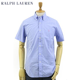 "Ralph Lauren S/S ""STANDARD"" Poplin Gingham S/S B.D.Shirts US ポロ ラルフローレン ブロード ギンガムチェック ボタンダウン 半袖シャツ"