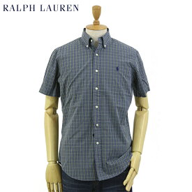 "Ralph Lauren S/S ""STANDARD"" Poplin Plaid S/S B.D.Shirts US ポロ ラルフローレン ブロード ボタンダウン チェック 半袖シャツ"