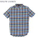 POLO by Ralph Lauren Boys (SCHOOL) S/S B.D.Shirts ラルフローレン ボーイズ ボタンダウン 半袖シャツ