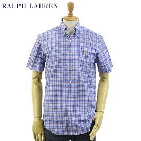 "Ralph Lauren S/S ""STANDARD"" Poplin S/S B.D.Shirts US ポロ ラルフローレン ブロード ボタンダウン 半袖シャツ"