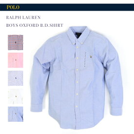 POLO by Ralph Lauren Boys (SCHOOL) l/s Oxford B.D.Shirts ラルフローレン ボーイズ ボタンダウン 長袖シャツ オックスフォード (UPS) 売れ筋