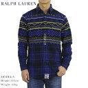 Ralph Lauren Men's l/s Snowflake Flannel Shirt US ポロ ラルフローレン メンズ 雪柄 長袖シャツ