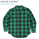 Ralph Lauren boy's l/s Flannel Work Shirts ラルフローレン ボーイズ シャツ