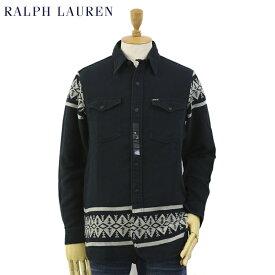 Ralph Lauren Men's l/s Native Flannel Shirts Jac US ポロ ラルフローレン メンズ ネイティブ柄 長袖シャツ ジャケット