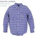 Ralph Lauren boy's l/s B.D.Shirts ラルフローレン ボーイズ ボタンダウン チェック 長袖シャツ
