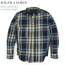 Ralph Lauren boy's l/s B.D.Shirts ラルフローレン ボーイズ ボタンダウン フランネル チェック 長袖シャツ