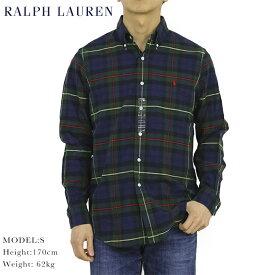 """ポロ ラルフローレン オックスフォード ボタンダウン 長袖シャツ タータンチェック クラシックフィット POLO Ralph Lauren Men's """"CLASSIC FIT"""" TARTAN Oxford B.D.Shirts US"""