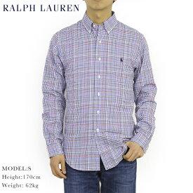 """ポロ ラルフローレン スリムフィット ボタンダウン チェック 長袖シャツ POLO Ralph Lauren Men's """"SLIM FIT"""" B.D.Shirts US"""