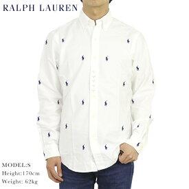 """ポロ ラルフローレン ボタンダウン オックスフォード 長袖シャツ クラシックフィット マルチポニー刺繍 POLO Ralph Lauren Men's """"CLASSIC FIT"""" B.D.Shirts US"""