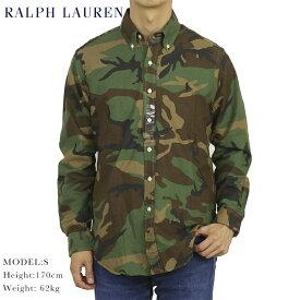 ポロ ラルフローレン クラシックフィット カモフラージュプリント オックスフォード 長袖ボタンダウンシャツ Polo Ralph Lauren CLASSIC FIT Camouflage B.D.Shirt