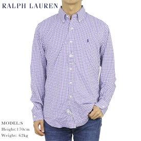 """ポロ ラルフローレン ボタンダウン 長袖シャツ クラシックフィット ストレッチナイロン POLO Ralph Lauren Men's """"CLASSIC FIT"""" B.D.Shirts US"""