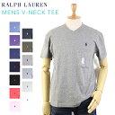 "POLO Ralph Lauren Men's ""CLASSIC FIT"" V-Neck T-shirts USポロ ラルフローレン メンズ 無地 Vネック Tシャツ ワンポ…"
