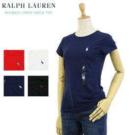 ポロ ラルフローレン レディース クルーネック Tシャツ POLO Ralph Lauren Women's Crew Neck Tee