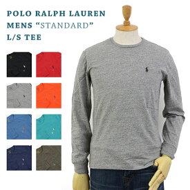 POLO Ralph Lauren Men's Crew l/s T-shirts US ポロ ラルフローレン メンズ 無地 長袖Tシャツ ワンポイント