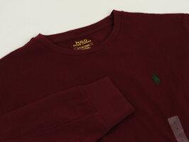 POLORalphLaurenMen'sCrewl/sT-shirtsUSポロラルフローレンメンズ無地長袖Tシャツワンポイント