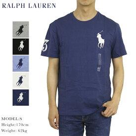 ポロ ラルフローレン ビッグポニー刺繍 クルーネック Tシャツ POLO Ralph Lauren Men's BIG PONY Crew Tee