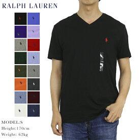 ポロ ラルフローレン メンズ 無地 Vネック Tシャツ ワンポイント POLO Ralph Lauren Men's V-Neck T-shirts