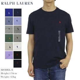 ポロ ラルフローレン メンズ 無地 クルーネック Tシャツ ワンポイント POLO Ralph Lauren Men's Crew-Neck T-shirts