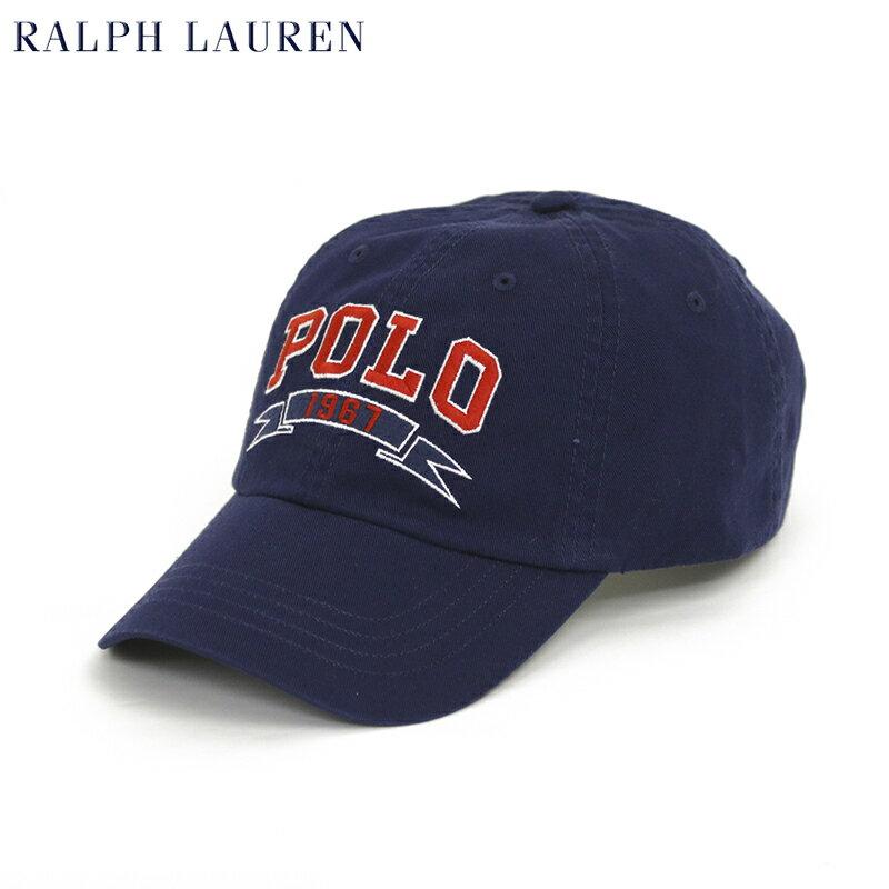 """ポロ ラルフローレン コットンツイル ロゴ刺繍 キャップ Polo by Ralph Lauren Denim """"POLO 1967"""" Cap US"""