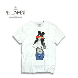 NO COMMENT PARIS ノーコメントパリ JAPAN LIMITED MK hand bra T shirt WHITE 半袖 Tシャツ