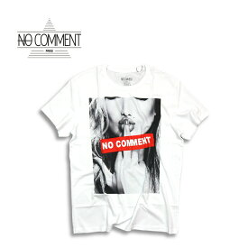 NO COMMENT PARIS ノーコメントパリ JAPAN LIMITED f**k logo T shirt WHITE 半袖 Tシャツ