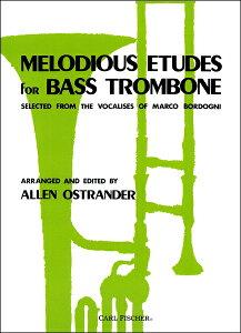 【取寄品】GYW00026757オストランダー バス・トロンボーンのための旋律的練習【楽譜】【メール便を選択の場合送料無料】
