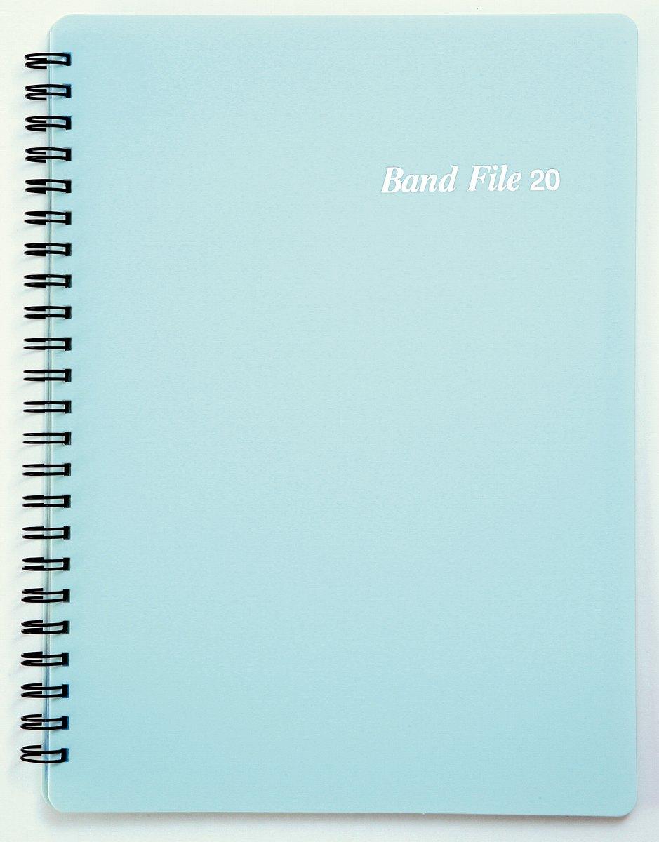 BF1015−03バンドファイル ブルー【メール便不可商品】