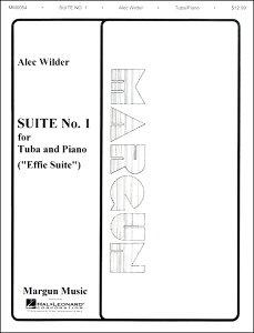 【取寄品】輸入Suite No.1 for Tuba and Piano (Effie Suite)/チューバとピアノのための組曲第1番(エフィー組曲)(Tub.ソロ)【楽譜】【メール便を選択の場合送料無料】