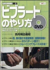 【取寄品】DVDやり方シリーズ2ビブラートのやり方20のコツとビブラートに特化したフレーズ集