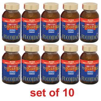 冲绳褐藻糖胶(胶囊) 10瓶