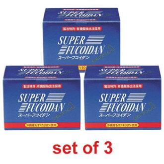 Super Fucoidan (set of 3)