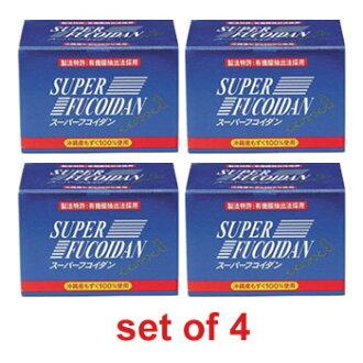 Super Fucoidan (set of 4)