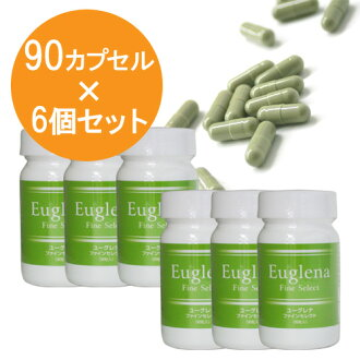 Green protozoan Fine select (90 capsule *6 sets)