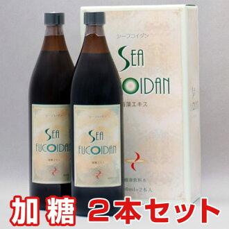 シーフコイダン (加糖 type) (900 ml of *2 sets) Nemacystus decipiens extract