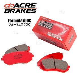 ACRE アクレ フォーミュラ 700C (前後セット) スイフトスポーツ ZC32S/ZC33S 11/12〜 (416/417-F700C