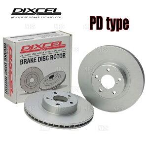 DIXCEL ディクセル PD type ローター (前後セット) フォルクスワーゲン コラード 50ABV 92〜 (1312713/1352714-PD