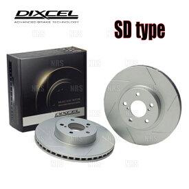 DIXCEL ディクセル SD type ローター (前後セット) パジェロ イオ H76W 98/6〜 (3411092/3456014-SD