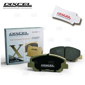 DIXCEL ディクセル X type (リア) WRX STI VAB 14/8〜17/6 ブレンボ (325499-X