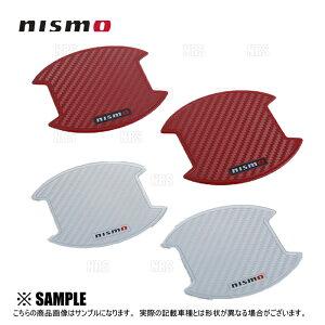 NISMO ニスモ ドアハンドルプロテクター (Mサイズ/レッド) NOTE (ノート/ニスモ/S) E12/NE12/E12改 (8064A-RN012