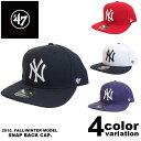 【ニューヨークヤンキース キャップ 】47brand キャップ スナップバック メンズ/NEWYORK YANKEES (4色) [B-SRS17] 【…