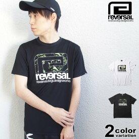 リバーサル reversal Tシャツ 半袖 BANANA BIG MARK DRY TEE (reversal tシャツ ドライ 速乾 ブラック ホワイト 格闘技 rv21ss011 ストリート)【あす楽対応】 【メール便対応】