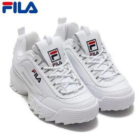 FILA Disruptor 2 フィラ ディスラプター 2 スニーカー ダッドシューズ メンズ レディース ホワイト 厚底 [F0215]【あす楽対応】