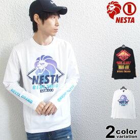 ネスタブランド NESTA BRAND Tシャツ 長袖 メンズ 201NB1150 リミテッド ロンT (nesta brand ロンT トップス ネスタ) 【あす楽対応】