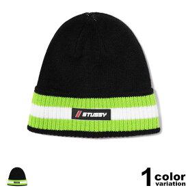 ステューシー STUSSY ニット帽 ビーニー メンズ レディース Striped Cuff Beanie (stussy ニット帽 折り返し 132938 ニットキャップ ストゥーシー スチューシー ) 【あす楽対応】 【メール便対応】