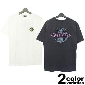 ステューシー STUSSY WOMEN Tシャツ 半袖 レディース Globe Pigment Dyed Tee (stussy tee ティーシャツ T-SHIRTS カットソー トップス 2903019 ストゥーシー スチューシー) 【あす楽対応】