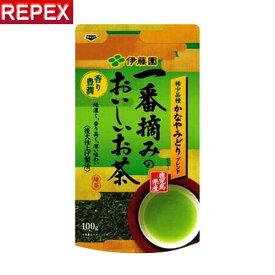 伊藤園 一番摘みのおいしいお茶 香り豊潤100g 茶葉 リーフ