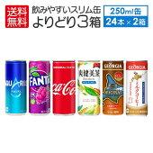 飲みやすいスリム缶各種245-250g30本×3箱90本セット