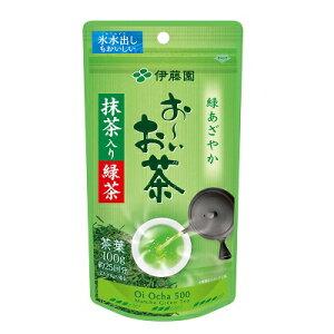 伊藤園 お〜いお茶 抹茶入り緑茶100g 茶葉 リーフ 元町